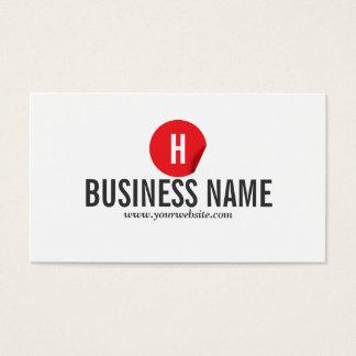 Red Dot Psychiatrist Business Card