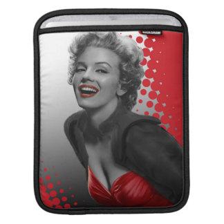 Red Dots Marilyn iPad Sleeve