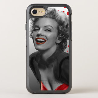Red Dots Marilyn OtterBox Symmetry iPhone 7 Case