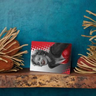 Red Dots Marilyn Plaque