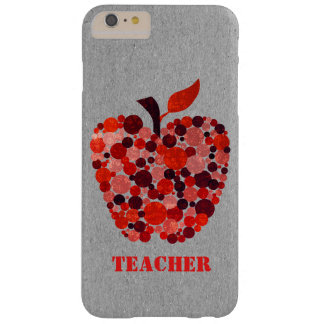 Red Dotted Apple Teachers iPhone 6 Plus Case