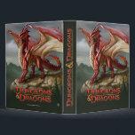 "Red Dragon 3 Ring Binder<br><div class=""desc"">Monster</div>"