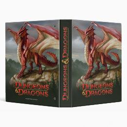Red Dragon 3 Ring Binder