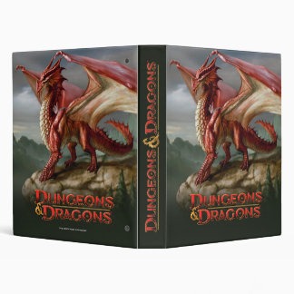 Red Dragon 3 Ring Binder