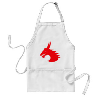Red Dragon Adult Apron