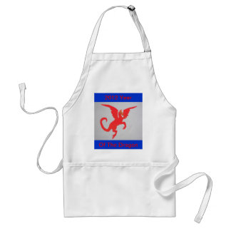 Red Dragon Aprons