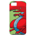 Red Dragon Art by Third Rail Design Labs iPhone 5 Cases