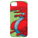 Red Dragon Art by Third Rail Design Labs iPhone 5 Cover