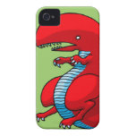 Red Dragon Art by Third Rail Design Labs iPhone 4 Case-Mate Cases