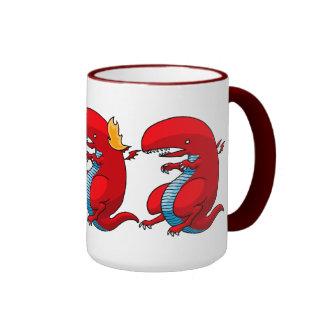 Red Dragon Art by Third Rail Design Labs Coffee Mug