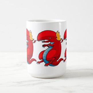 Red Dragon Art by Third Rail Design Labs Mugs