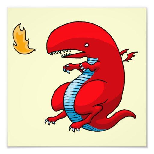 Red Dragon Art by Third Rail Design Labs Photo Art