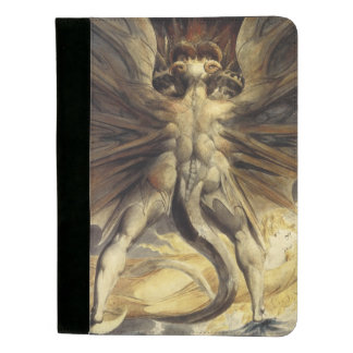 """Red Dragon"" art pad folio Padfolio"