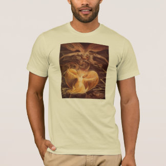 Red Dragon Art William Blake T-Shirt