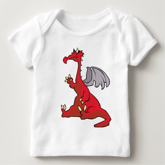 Red Dragon Baby T-Shirt