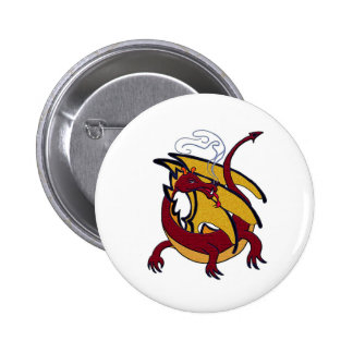 Red dragon button