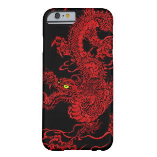 Red Dragon Barely There iPhone 6 Case