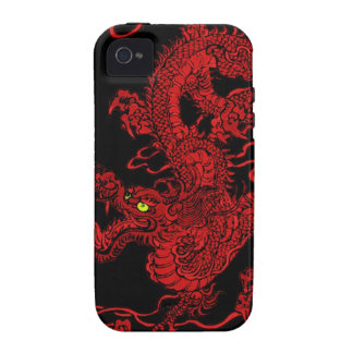 Red Dragon iPhone 4/4S Cover
