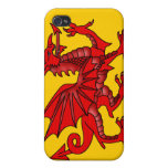 Red Dragon  Case For iPhone 4