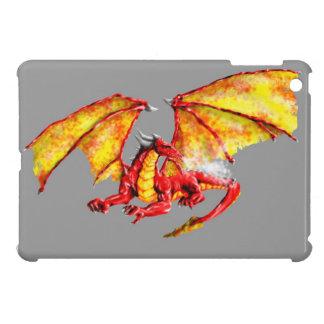 Red dragon case for the iPad mini