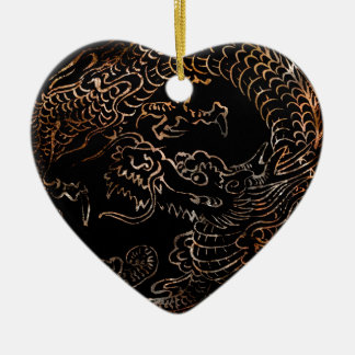 RED DRAGON CERAMIC ORNAMENT