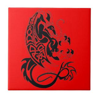 Red Dragon Ceramic Tile