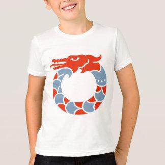 Red Dragon Childrens Ringer T-shirt