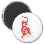 Red Dragon/Chinese New Year Fridge Magnets