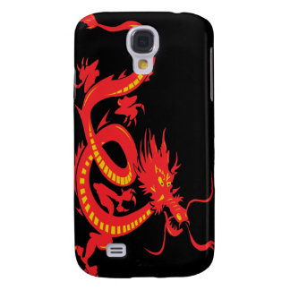 Red Dragon Chinese New Year Galaxy S4 Cover