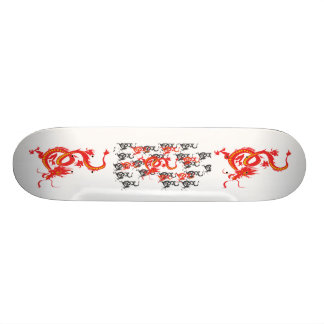 Red Dragon/Chinese New Year Skateboard