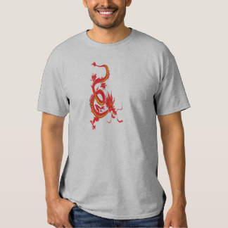 Red Dragon Chinese New Year T Shirt