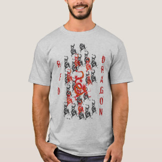 Red Dragon Chinese New Year T-Shirt