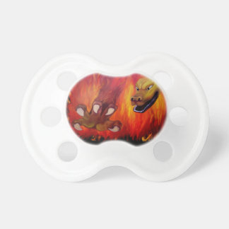 Red Dragon Claw Pacifier