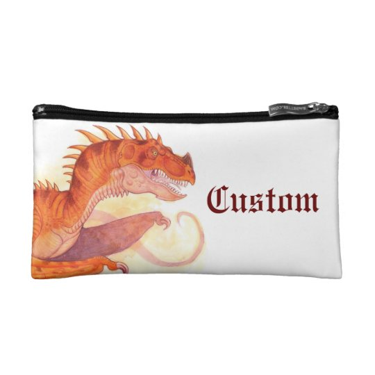 Red Dragon Cosmetic Bag