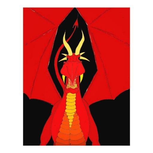 Red Dragon Custom Flyer