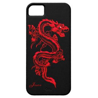 Red Dragon Custom iPhone 5 Case