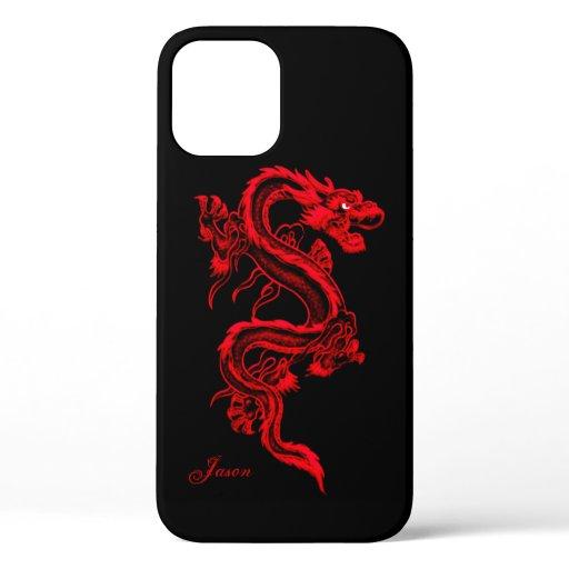 Red Dragon Custom iPhone Case-Mate iPhone Case