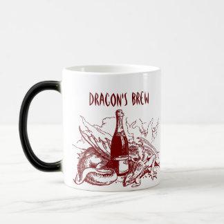 RED DRAGON  ~ DRAGON'S BREW ~ MORPHING MUG