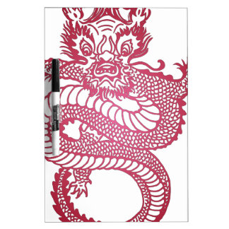 Red Dragon Dry Erase Board