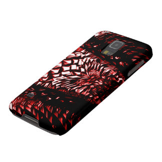 Red Dragon Elite Class Knight Armor Galaxy S5 Covers