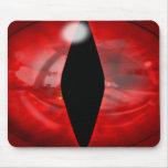 Red Dragon Eye Mousepad