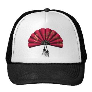 Red Dragon Fan Pixel Art Trucker Hat