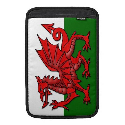 Red Dragon Flag of Wales _ MacBook Air Sleeves