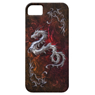 Red dragon for Barely there iPhone SE/5/5s Case