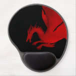 Red Dragon Gel Mouse Pad