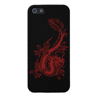 Red Dragon Glaurung iPhone 5 Case