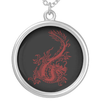 Red Dragon Glaurung Necklace