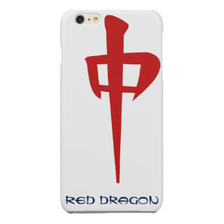 Red Dragon Glossy iPhone 6 Plus Case