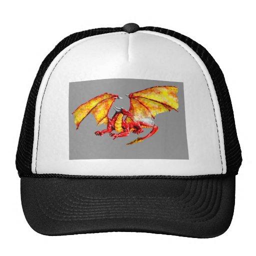 Red dragón gorras de camionero