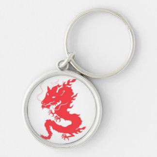 Red Dragon Keychain